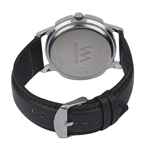 Watch Me Swiss Analogue Black Dial Men's Watch - WMALDM-007-008-009vjeasy