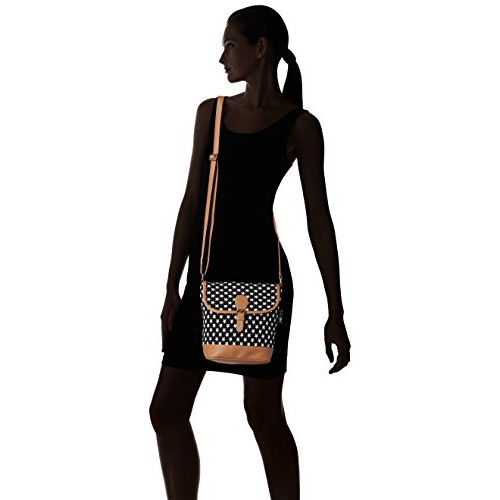 Kanvas Katha Women Sling Bag (Black)(KKRJQ012)