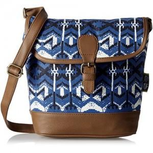 Kanvas Katha Women Sling Bag (Blue)(KKRWV009)