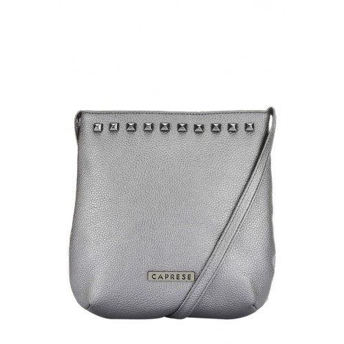 Caprese Women's Sling Bag (Metallic Grey)