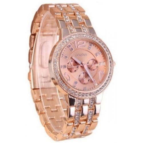 Geneva GEN-01 Forever Bling Rose Gold Watch