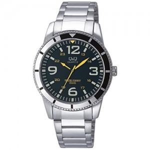 Q&Q Analog Green Dial Men's Watch - Q556N215Y