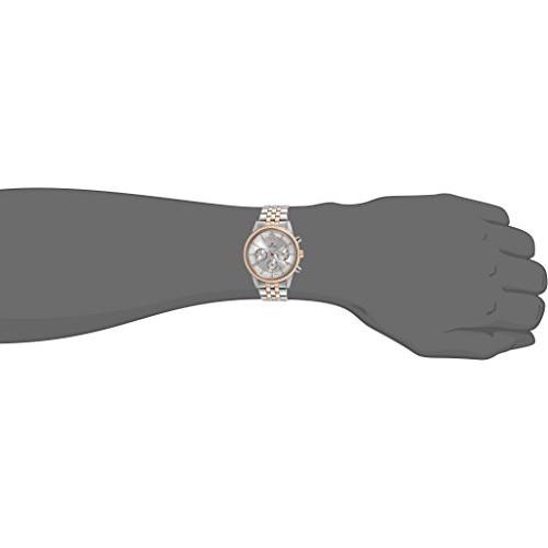 Titan 1734KM02 Round Metal Chronograph Watch