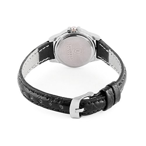 Laurels Liberal 2 Analog Silver Dial Couple's Watch ( Lo-Lib-201)
