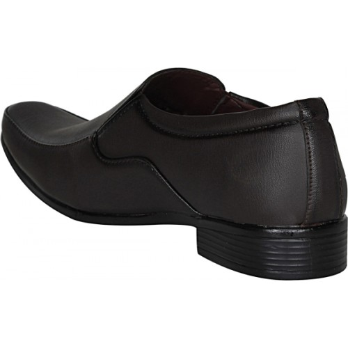Kraasa Brown Synthetic Leather For Men