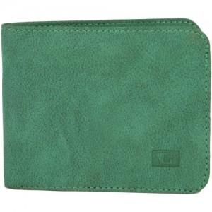 Gansta Men Green Artificial Leather Wallet