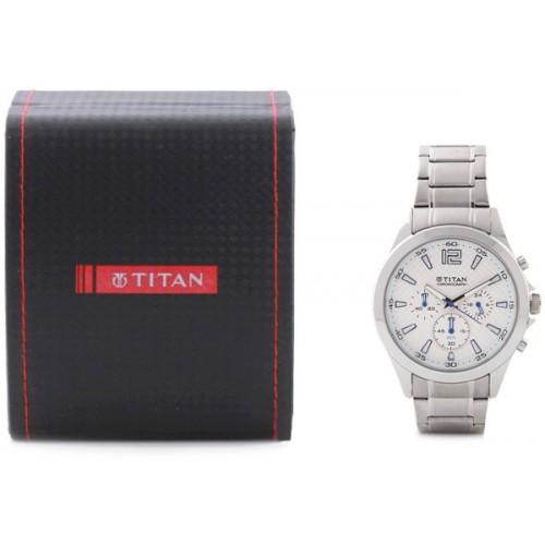 Titan NE9323SM07 Octane Watch  - For Men