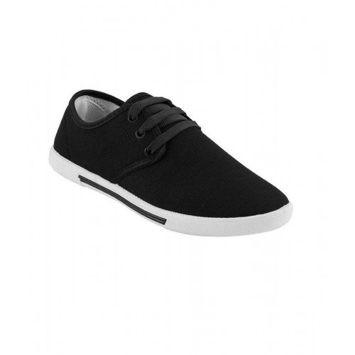 Axter Men's Canvas Black Causal shoes