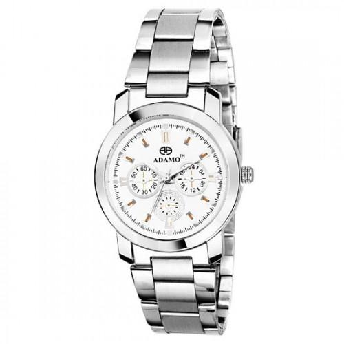 ADAMO Adamo Designer White Dial Women's Wrist Watch A324SM01