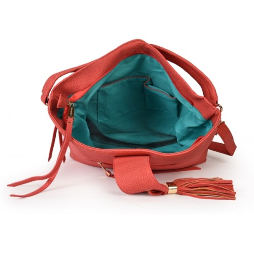Diana Korr Red Shoulder bag DK73HRED