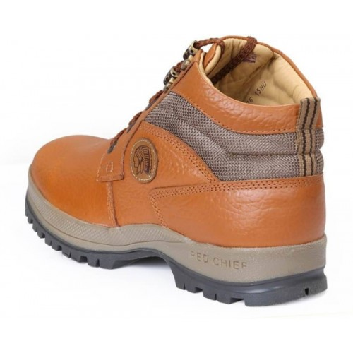 Red Chief RC2501 Tan Genuine Leather Corporate Boots