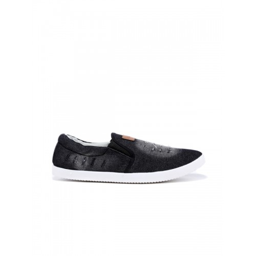 Sparx Men Black Faded Slip-On Casual Shoes