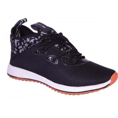 Shoebook Mens Black Sneakers For Men