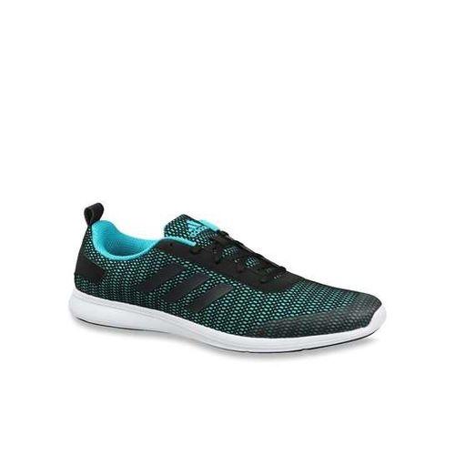 Adidas Men's Adispree 2.0 M Black & Blue Mesh Running Shoes