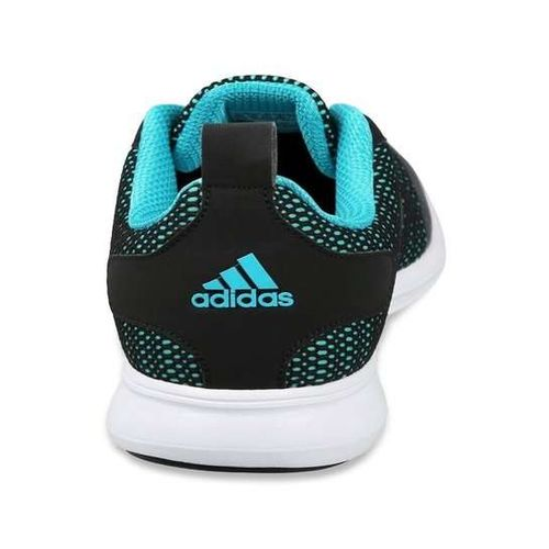Adidas Men's Adispree 2.0 M Black & Blue Mesh Running Shoes