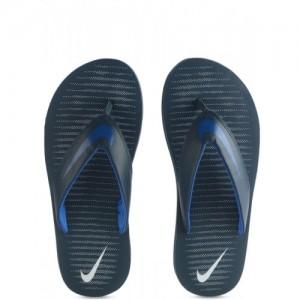 Nike Blue Slip On Chroma Thong 5 Slippers