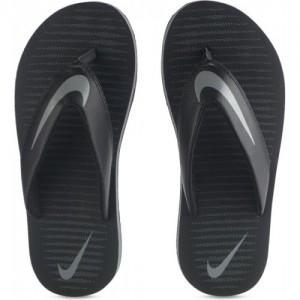 Nike Black Slip On Chroma Thong 5 Slippers
