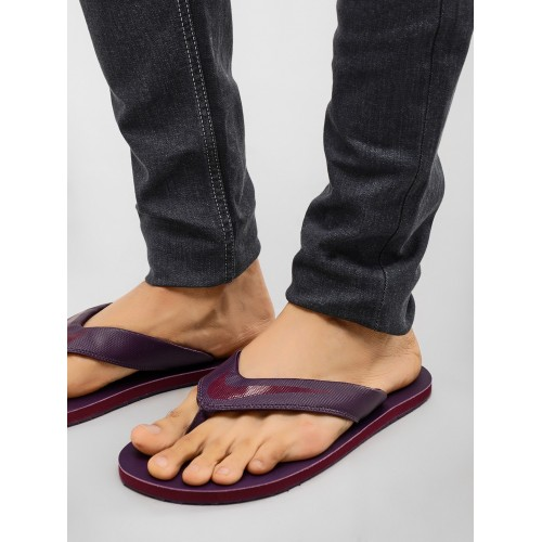 842731e3f Buy Nike Purple Slip On CHROMA THONG 5 Slippers online