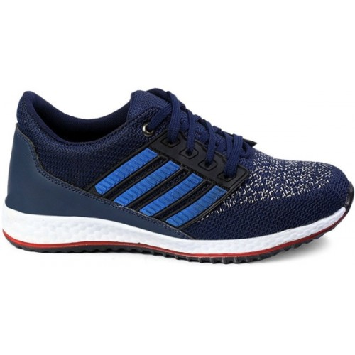Mens Ego Navy Blue Mesh Men's Running Sport Shoes