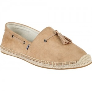Zobello Tan Suede Tassel Espadrilles For Men
