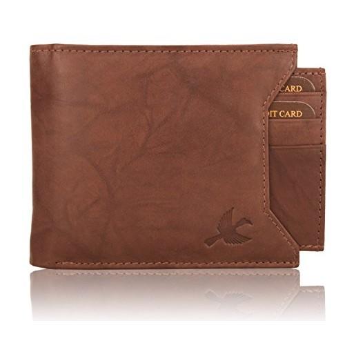 Hornbull Men's Brown Wallet and Brown Belt Combo BW6990