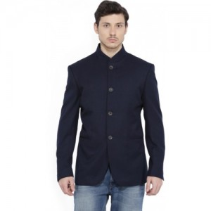 Allen Solly Solid Single Breasted Casual Men's Blazer