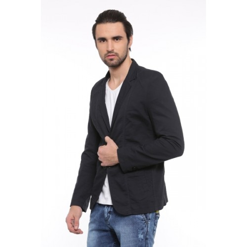 Showoff Solid Single Breasted Casual Men Blazer