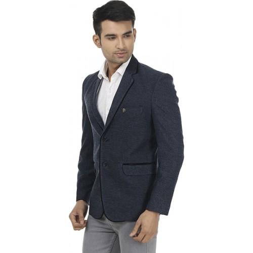 Platinum Studio Self Design Single Breasted Casual, Formal Men Blazer
