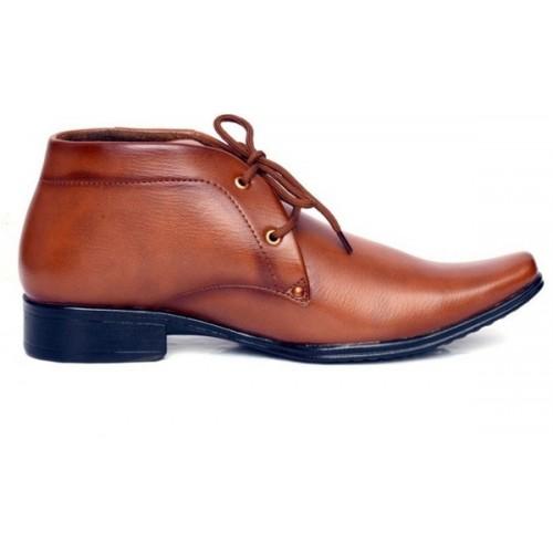 Deals4you Men Genuine Leather Formal Slip on Shoes