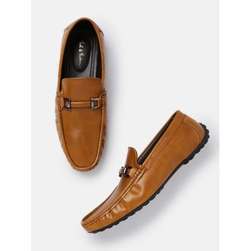 Buy Mast Harbour Men Tan Brown Horsebit Loafers Online Looksgud In