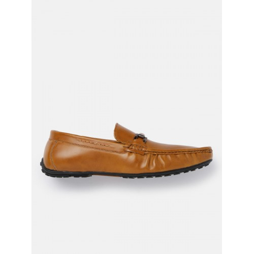 86aa6c67177 Buy Mast   Harbour Men Tan Brown Horsebit Loafers online