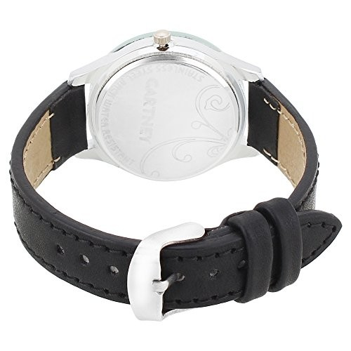 CARTNEY Black Dial Leather Strap Women's Analog Watch - (CTY65LDS)