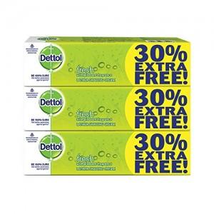 Dettol Fresh Shaving Cream - 78g (Pack of 3)