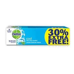 Dettol Cool Shaving Cream 60g+18gfree=78g