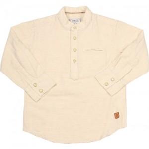 Gini & Jony Boys Solid Casual Beige Shirt