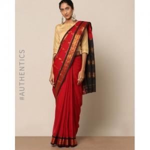 Indie Picks South Cotton Silk Saree with Rich Pallu