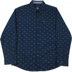 Allen Solly Junior Boys Solid Casual Shirt