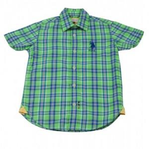 US Polo Kids Boys Solid Casual Shirt
