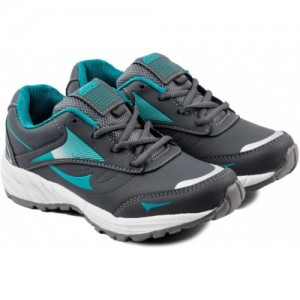 Asian Boys Lace Running Shoes