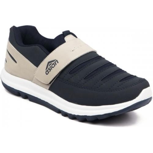 Asian Boys Velcro Running Shoes
