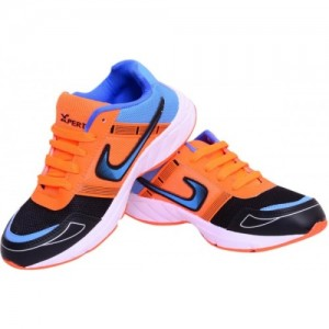 Xpert Boys Multicolor Lace Running Shoes