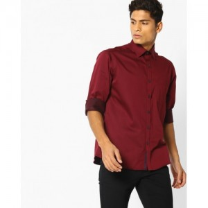 NETWORK Shirt with Patch Pocket