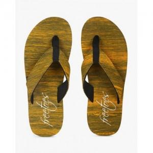Freetoes Printed Thong-Style Flip-Flops
