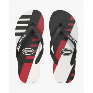 RED TAPE Printed Thong-Style Flip-Flops