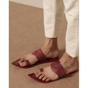 Indie Picks Pure Leather Kolhapuri Chappals