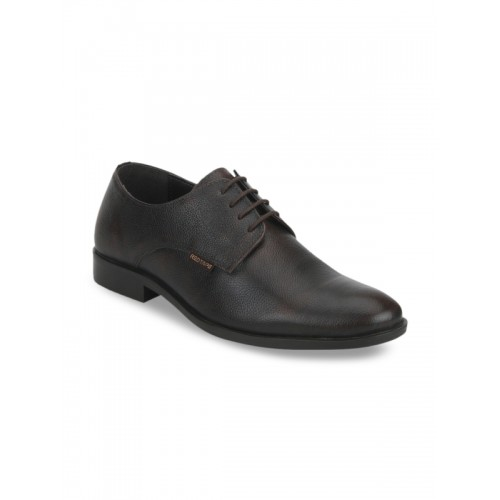 ... Red Tape Men Brown Leather Formal Shoes ...