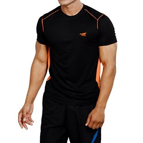 Buy nnn men 39 s polyester sports t shirt online for T shirt design upload picture