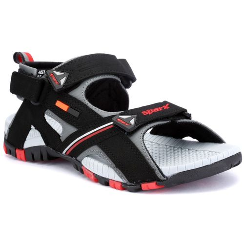 Sparx Men Black Red Sports Sandals