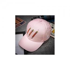 ELECTROPRIME Unisex New Men bboy Hip Hop Adjustable Baseball Snapback Hat (Pink)