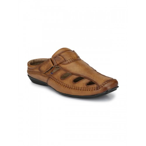 6ddc7c0fc3cf35 Buy El Paso Men Brown Comfort Sandals online